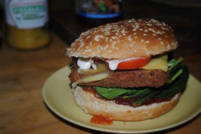 A&A fiske burger
